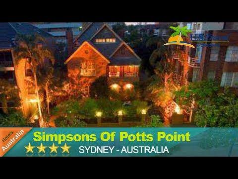 Simpsons Of Potts Point - Sydney Hotels, Australia