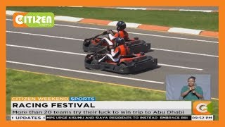 More than 20 teams try their luck to win trip to Abu Dhabi racing festival