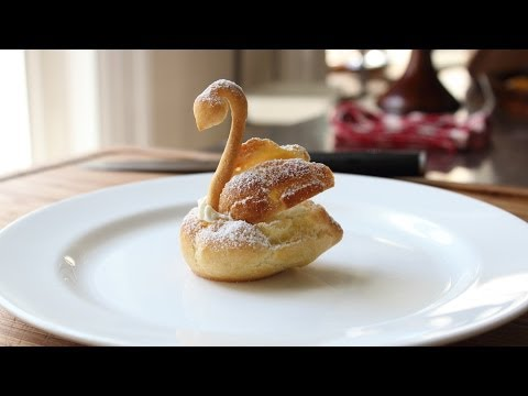 Chocolate Cream Puff Swans - How To Make Swan Cream Puffs For Mother's Day