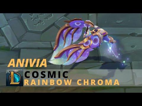 Cosmic Anivia Rainbow Chroma - League Of Legends