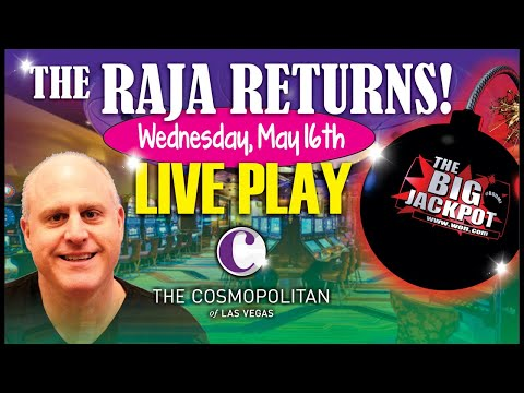 🔴 Live High Limit Slot Play from Las Vegas 🔴 | The Big Jackpot