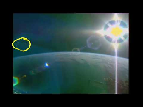 Ufo NASA sighting International Space Station ISS live tv