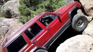 Crazy axle shaft brake (jeep XJ)