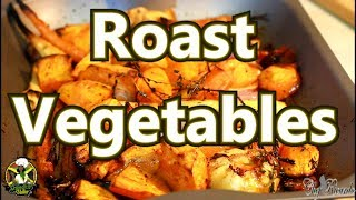 Roast vegetables for thanks giving day  #UKthanksgivingday #chefricardocooking