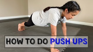 How To Do Push Ups  For Beginners  For Kids  AVIverse