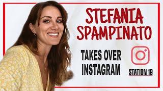 Stefania takes over ig - station 19