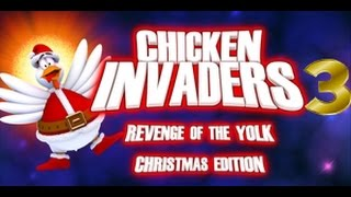 Chicken Invaders 3 Revenge of the Yolk Christmas Edition Android iOS Gameplay