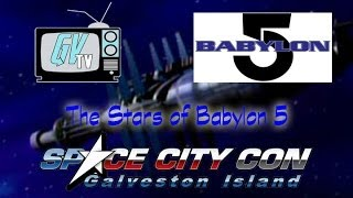 The Stars of Babylon 5 @SCCG