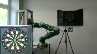 Dart Throwing with a Robotic Manipulator