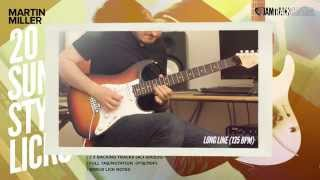 Martin Miller's 20 Sunny Style Fusion Licks!   JamTrackCentral.com