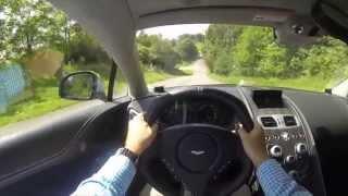 2014 Aston Martin Vanquish POV Test Drive