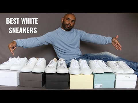 6 Best Premium White Sneakers Feat. Idrese, Common Projects, Greats, Koio, Oliver Cabell,  Arigato