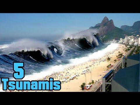 5 Tsunamis die mit Kamera festgehalten wurden