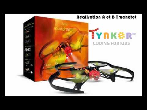 Programming Parrot Drones with Tynker - Programmer son drone Parrot avec Tynker- Coding Parrot
