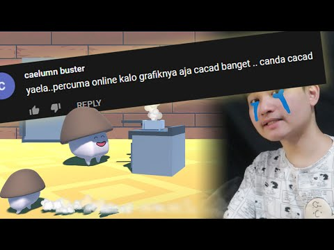 bagusin grafik game ONLINE gw biar komenan kek gini gak muncul terus :( ..