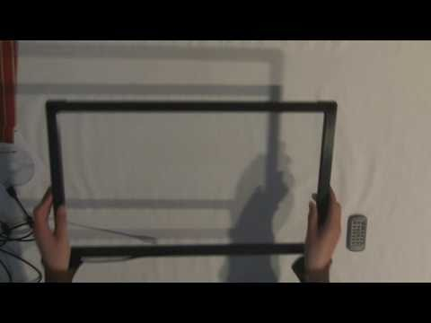 Peau Productions :: Infrared Touch Frame Full Review Video