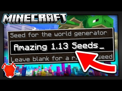 4 TRULY Unique Minecraft 1.13 Seeds!