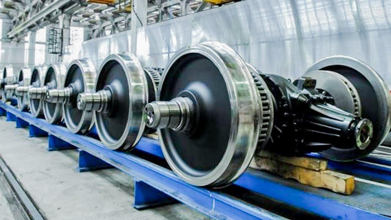 ফ্যাক্টরিতে ট্রেন কিভাবে তৈরি হয় দেখুন | Indian Railway Wheel, Track, Couch Production in Bangla