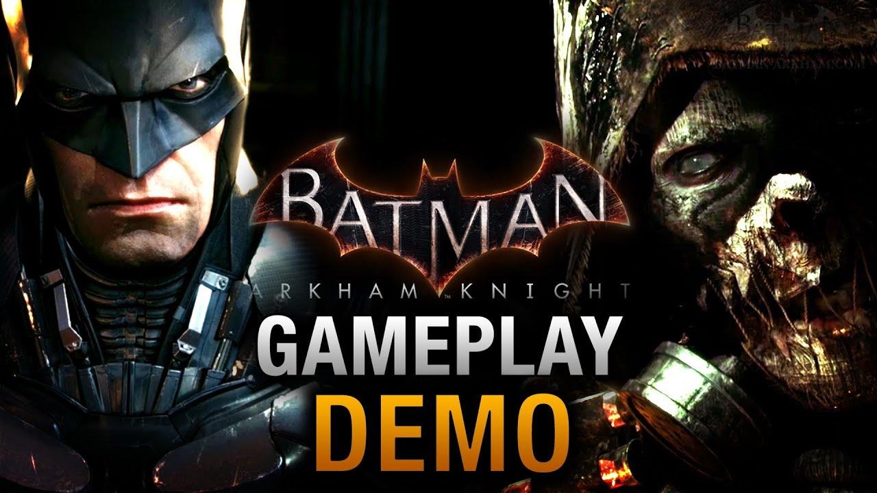 Batman: Arkham Knight - Full Gameplay Demo E3 2014 - YouTube