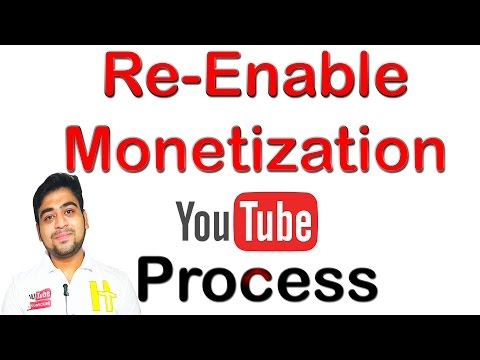 Re-Enable || Monetization || In 24 Hours || Process || Explained || Hindi