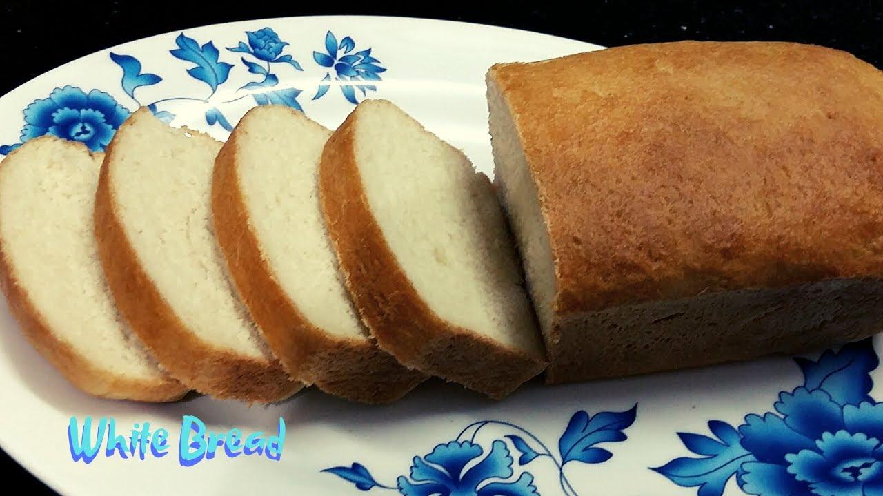 Homemade White Bread Recipe || Milk Bread || Bread Making ...