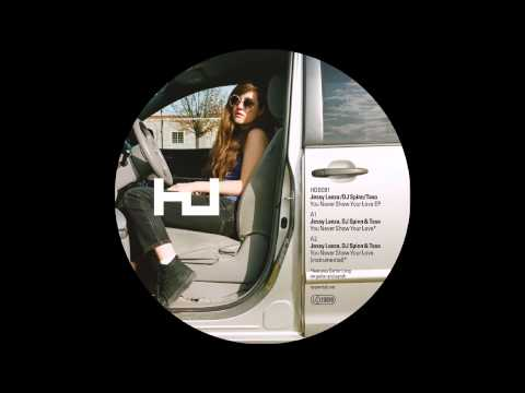 Jessy Lanza, DJ Spinn & DJ Rashad - You Never Show Your Love (Teklife Mix)