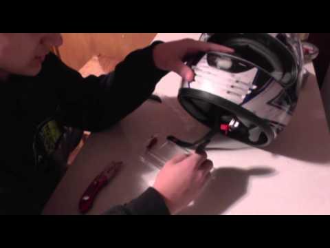 How To Mount a GoPro On a Helmet (Epoxy)