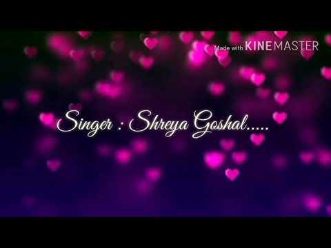 Kabhi Jo Badal Barse Full Hd Lyrics Video Song # Femail Version # Shreya Goshal