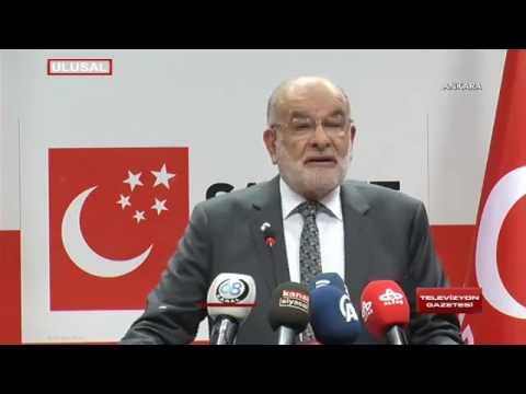 Saadet Partisi Genel Başkanı Temel Karamollaoğlu'ndan Başkanlık Açıklaması