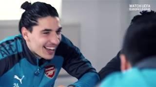 What should Arsenal fans sing for Aubameyang and Mkhitaryan?