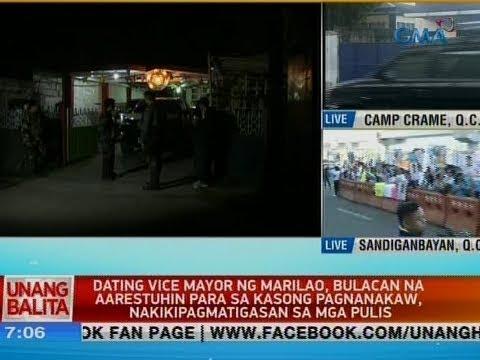 Dating vice mayor ng Marilao, Bulacan na aarestuhin, nakikipagmatigasan sa mga pulis
