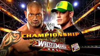 WWE | WrestleMania XXVI Match Card