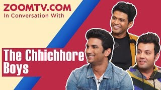 Sushant Singh Rajput, Varun Sharma, Naveen Polishetty and Chhichhore cast's funniest interview