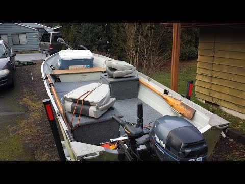 Twist3d Fishing - 14ft Starcraft Aluminum Boat Remodel/Restoration