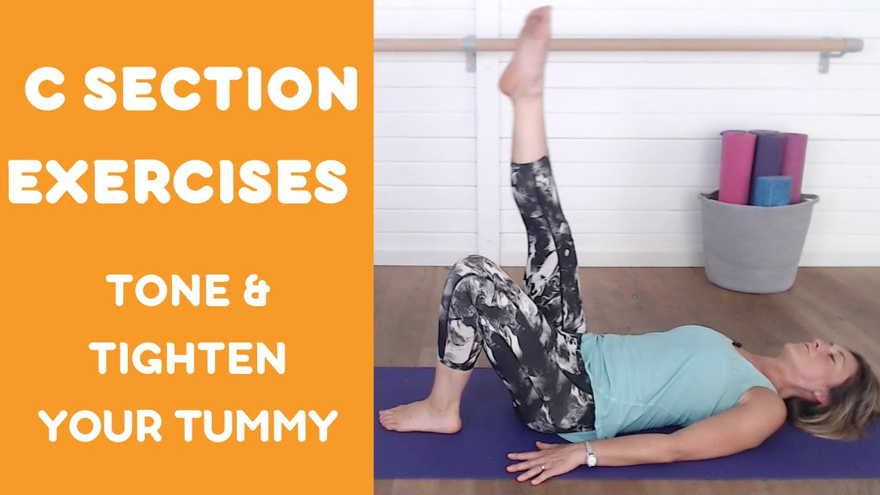 Best Ab Exercises For C Section Pouch - Exercise Poster