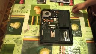 видео Ремонт ноутбука Acer TravelMate 4230