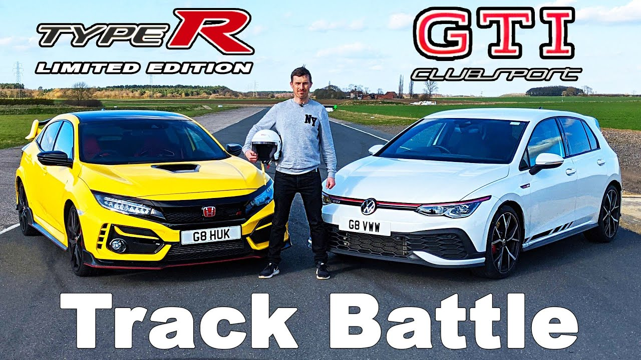 New VW Golf GTI Clubsport vs Honda Civic Type R review: which is quickest on track and 1/4 mile?