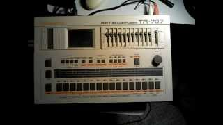 Electronic707-Roland TR707-Synthesizer Music