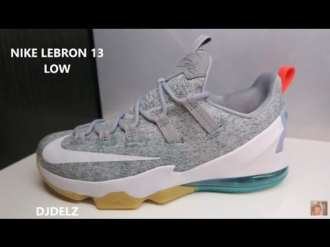 sports shoes cf82c a3488 Nike Lebron 13 Low Summer Sneaker (Detailed Look) - YouTube