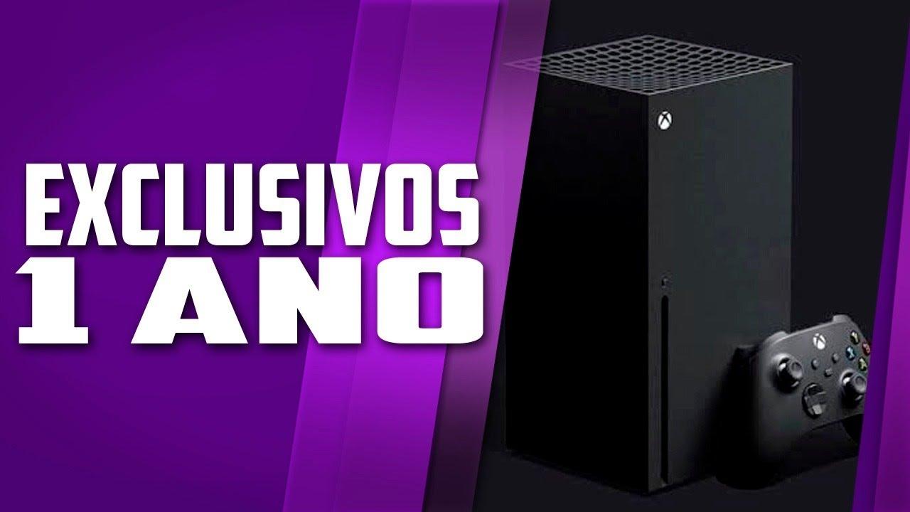 Xbox Series X e os EXCLUSIVOS, 1 ano, MUDANÇA SURPREENDENTE