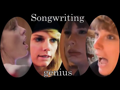 Taylor Swift being a songwriting genius for 13 minutes