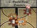 Puzzle Piece Coasters