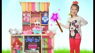 Dominika Pretend Play magic supermarket for kids