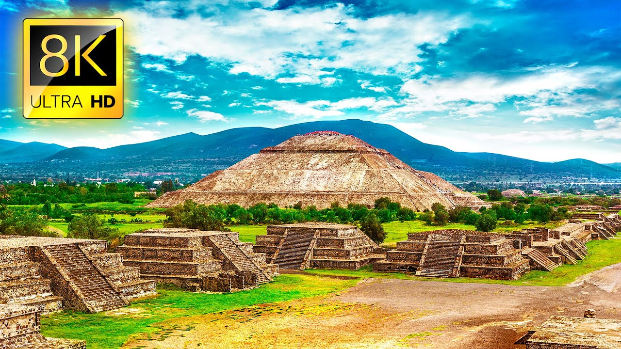 Ultimate MEXICO Tour in 8K ULTRA HD - Travel to the Best Places in Mexico with Relaxing Music 8K TV