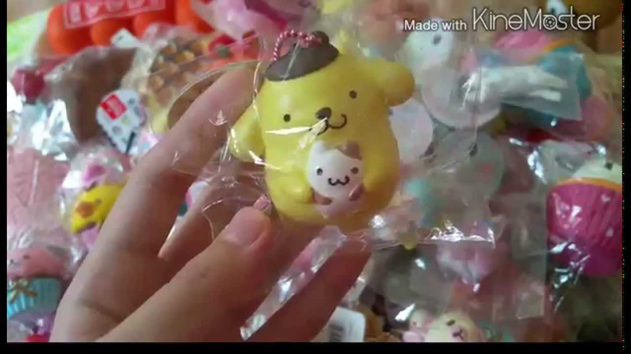 Huge Rare Squishy Collection : Huge squishy collection 2014 - YouTube