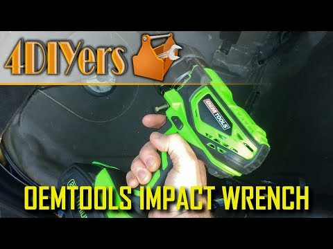 "Review: OEMTOOLS 1/2"" Drive 20v Impact Wrench 24481"