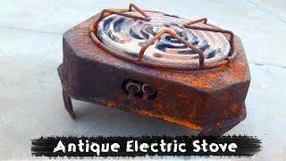 Ancient Rusted Electric Stove RESTORATION