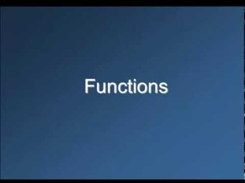 Functions in EES - YouTube