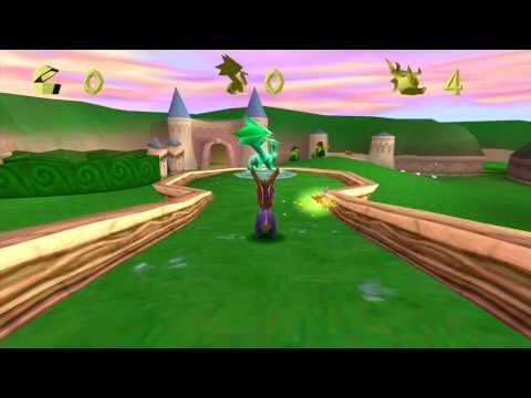 Spyro The Dragon - Widescreen Gameplay HD 1080P PCSX-R
