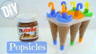 Diy Nutella Popsicles (ice Pops)